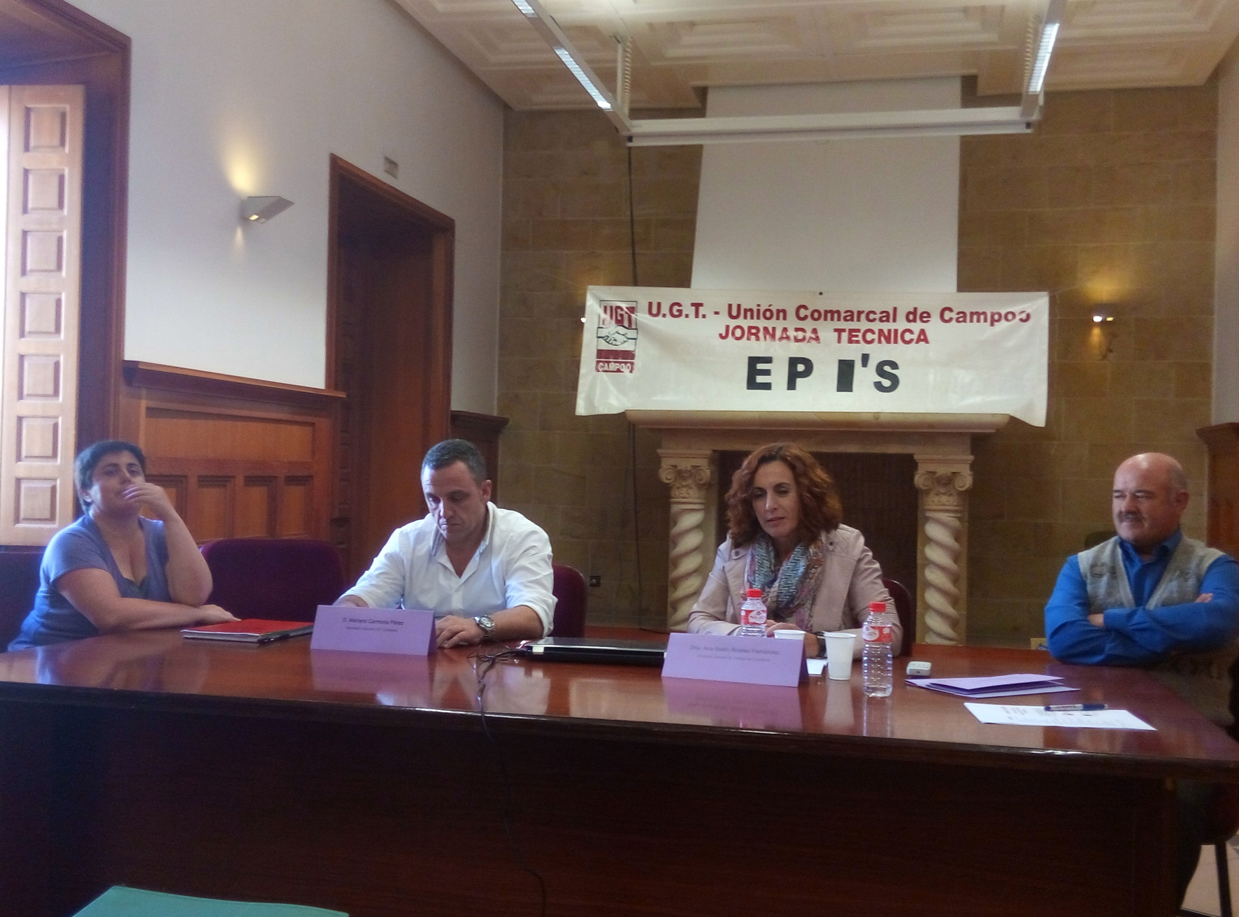 Jornada de salud laboral Campoo