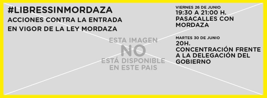 Campaña en contra de la Ley Mordaza