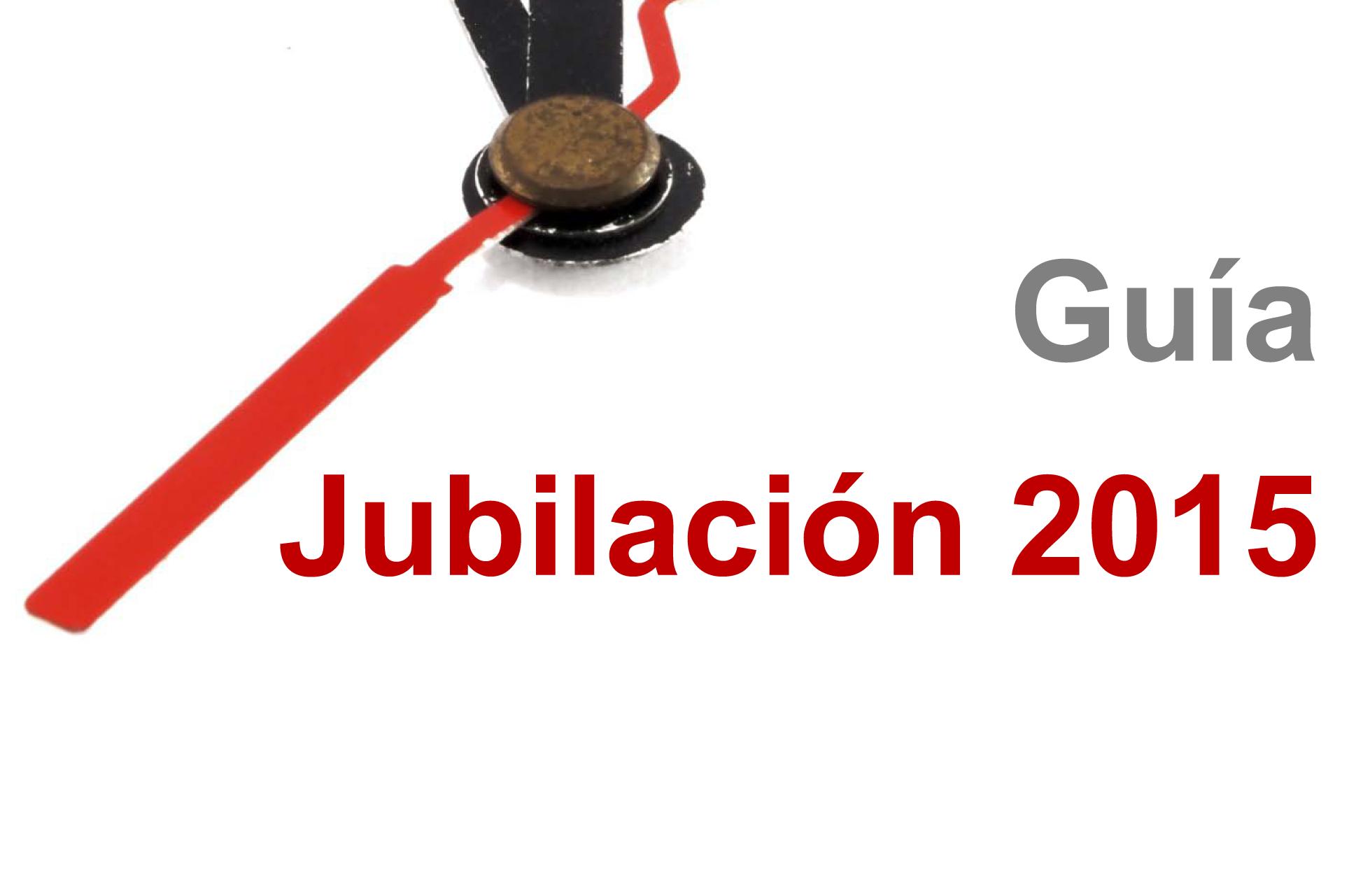 Guía de la Jubilación 2015