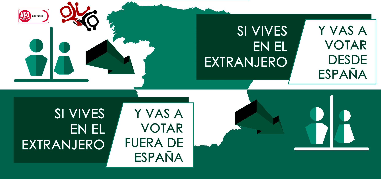 Como votar si eres español no residente en España