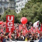 Imagen de la manifestación del 1 de Mayo del año pasado
