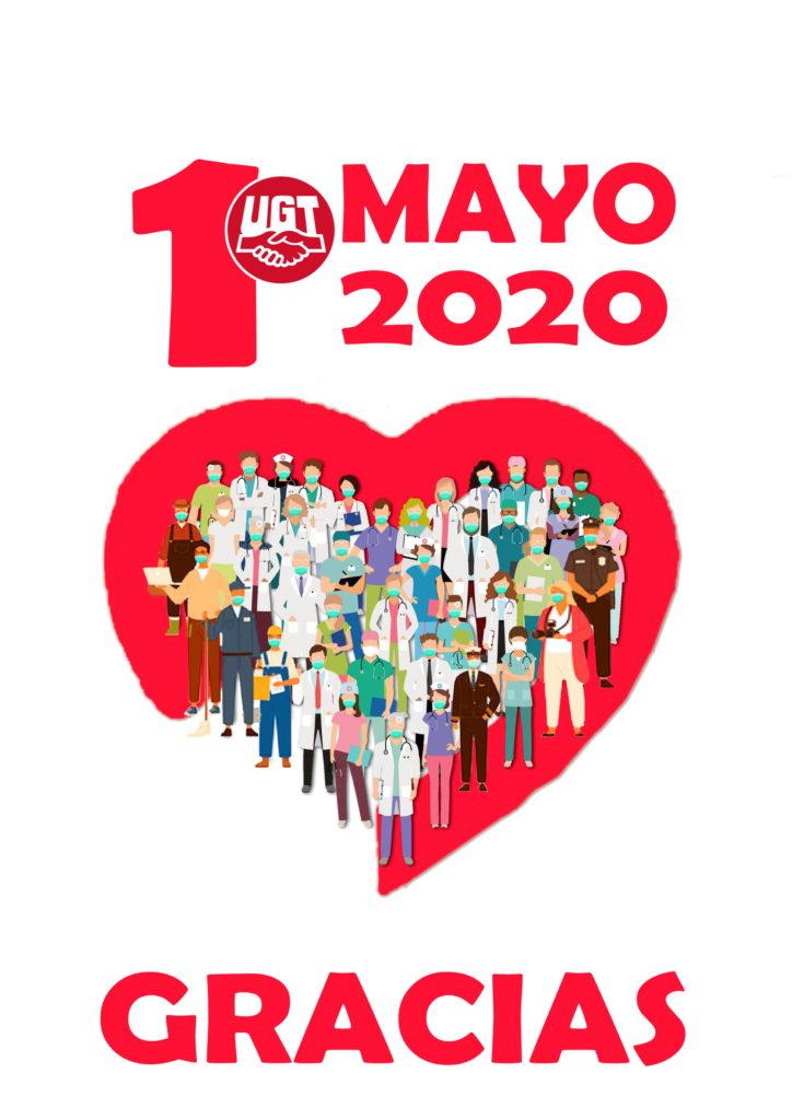 UGT y CCOO animan a secundar el 1 de Mayo en las redes sociales