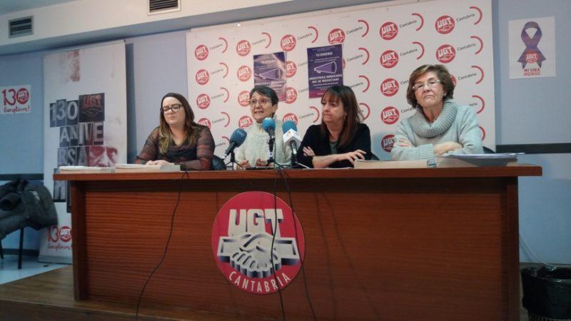 UGT anima a secundar la concentración del 15 de enero en defensa de los derechos y libertades de las mujeres