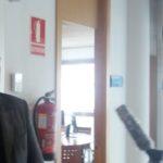 Mariano Carmona, secretario general de UGT, en sus declaraciones a los medios de comunicación tras la reunión de hoy