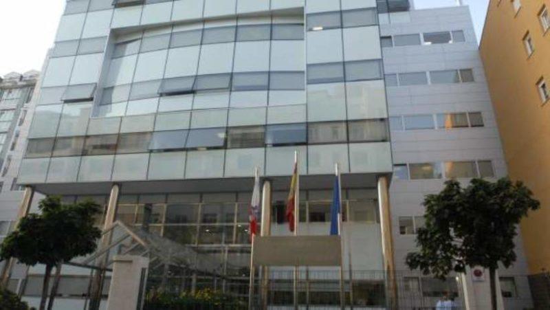 Sede del Gobierno de Cantabria en la calle Peña Herbosa de Santander