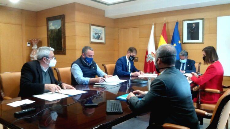 Firma del II Acuerdo del Diálogo Social de Cantabria desde la irrupción de la pandemia de la Covid-19