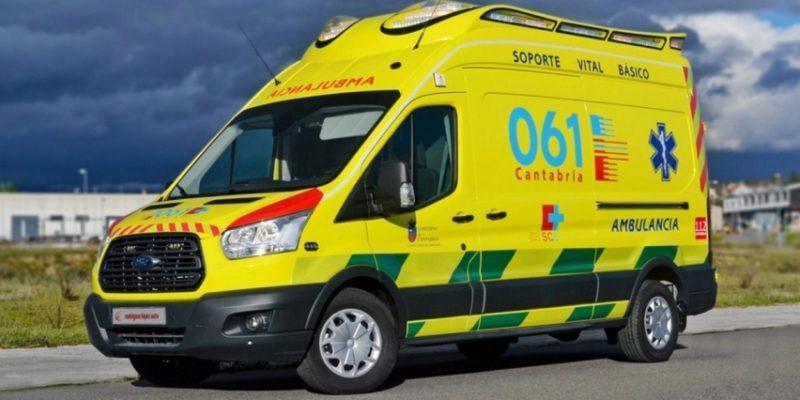 Ambuibérica es la empresa concesionaria del transporte sanitario del Servicio Cántabro de Salud (SCS)