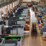 Fábrica de Edscha, una de las empresas de automoción cántabra con la mayoría de su plantilla en ERTE