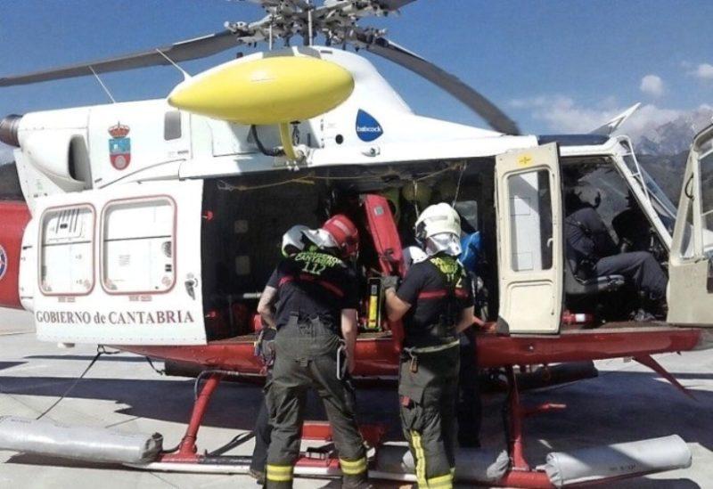 UGT rechaza que se recorten salarios y derechos laborales en la plantilla de los helicópteros de emergencia
