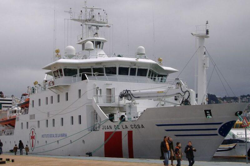 UGT interpone demanda por conflicto colectivo en el buque hospital Juan de la Cosa, que tiene su base en Santander