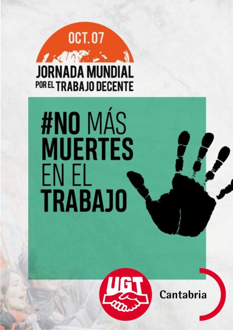 Cantabria es la segunda autonomía española con el mayor índice de muertes en el trabajo