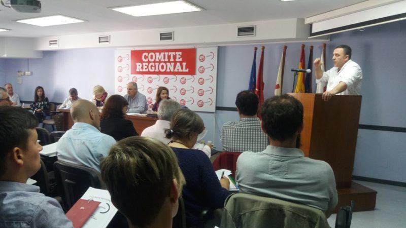 Imagen del Comité Regional de UGT en Cantabria celebrado hoy en la sede del sindicato en Santander