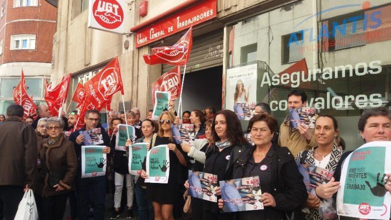 UGT sigue reclamando el cumplimiento de la Ley de Prevención de Riesgos Laborales