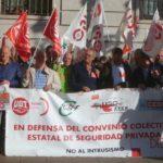 Los sindicatos de la seguridad privada exigen subidas salariales razonables para firmar el nuevo convenio colectivo estatal del sector