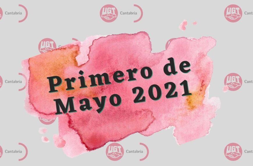 Concentración Primero de Mayo 2021
