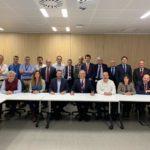 Firmantes de la prórroga del convenio colectivo marco de Viesgo