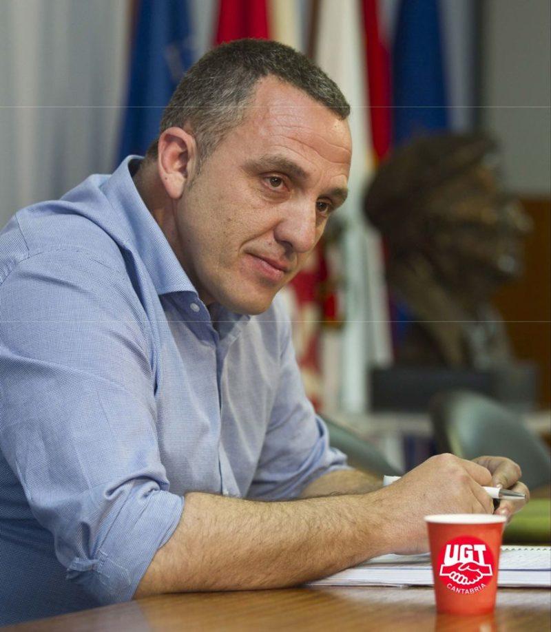 El secretario general de UGT critica que no haya un proyecto común y consensuado para afrontar los retos de futuro de Cantabria