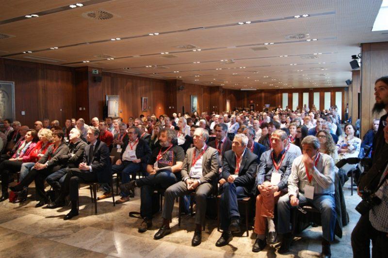 Jornada de inauguración del último congreso regional del sindicato en Cantabria hace cuatro años