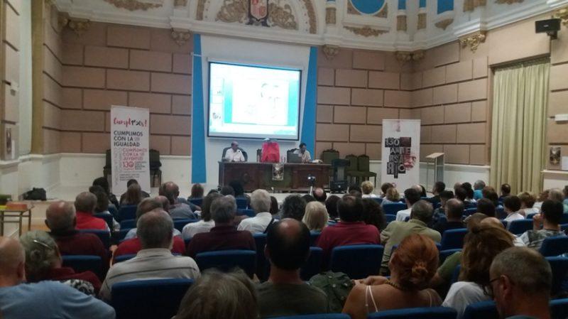 Acto de clausura del 130 aniversario de UGT en Cantabria