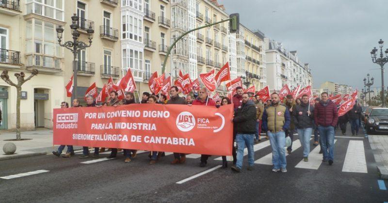 Los sindicatos no descartan una huelga general en el metal tras más de un año de negociaciones infructuosas del nuevo convenio colectivo
