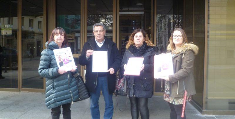 UGT y CCOO registraron la convocatoria de huelga en el Gobierno de Cantabria