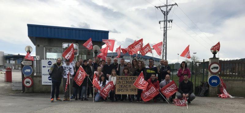 La plantilla de Lácteos de Santander, del Grupo Leche Celta, iniciará huelga general indefinida el próximo lunes 16 de abril