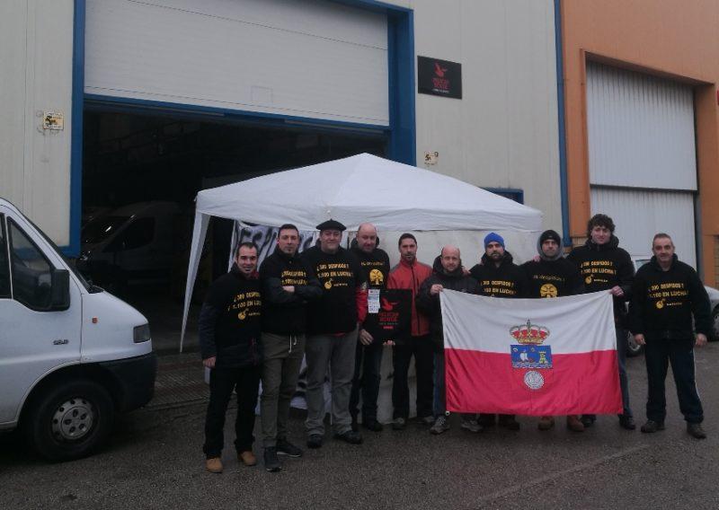 La huelga general ha sido respaldada por toda la plantilla en Cantabria, un 90% en todos los demás centros nacionales de Selecta