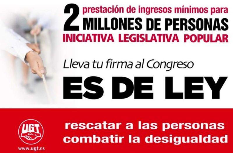 La ILP de Prestación de Ingresos Mínimos beneficiaría a más de dos millones de españoles, más de 20.000 en Cantabria
