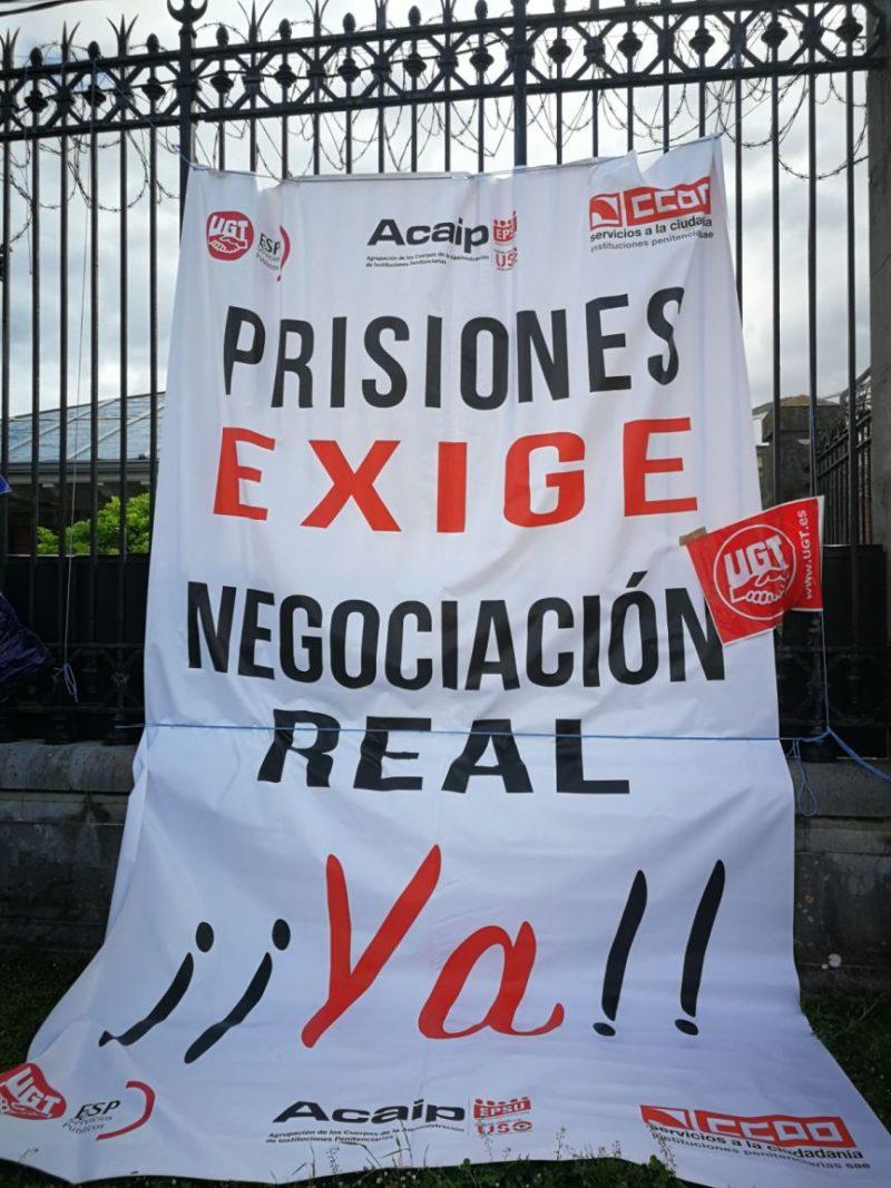 Las movilizaciones vuelven a las prisiones españolas