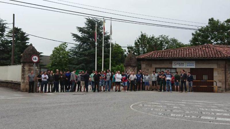 La plantilla de la fábrica corraliega está llamada a otros cinco días de huelga tras los tres del pasado mes de junio