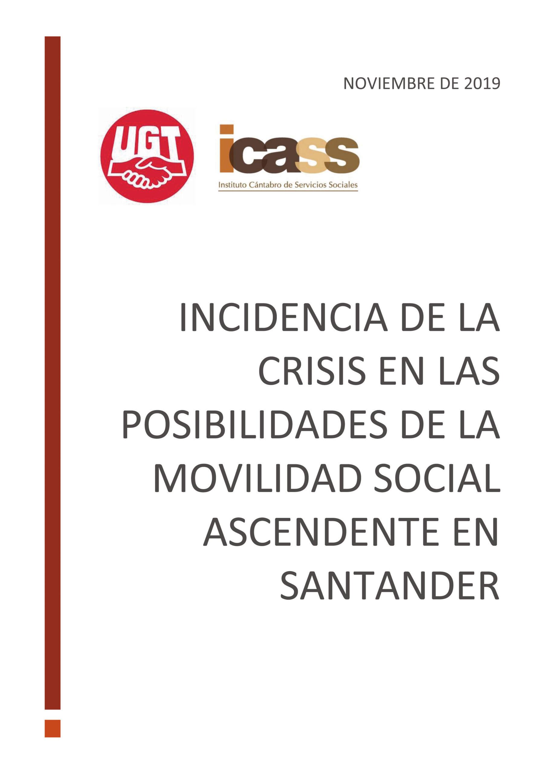 Incidencia de la crisis en las posibilidades de la movilidad social ascendente en Santander