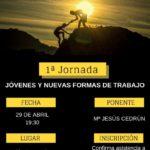Cartel de la primera jornada formativa de la campaña de OJUCA