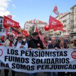 Los pensionistas y jubilados de UGT llevan tiempo movilizándose contra la subida de las pensiones decretada por el Gobierno español
