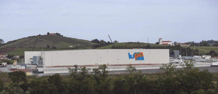 Centro logístico de Lupa en el Polígono Industrial de Marina de Cudeyo (Orejo)