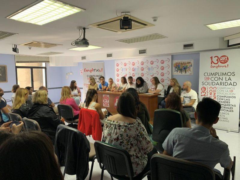 Mesa redonda de OJUCA con motivo del Día Internacional de la Juventud