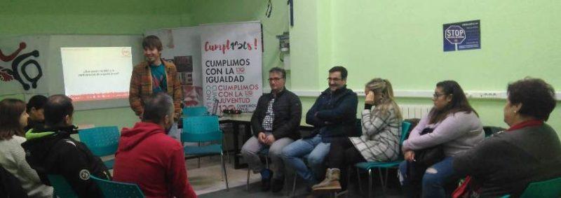 Asistentes a la jornada de OJUCA en Santoña