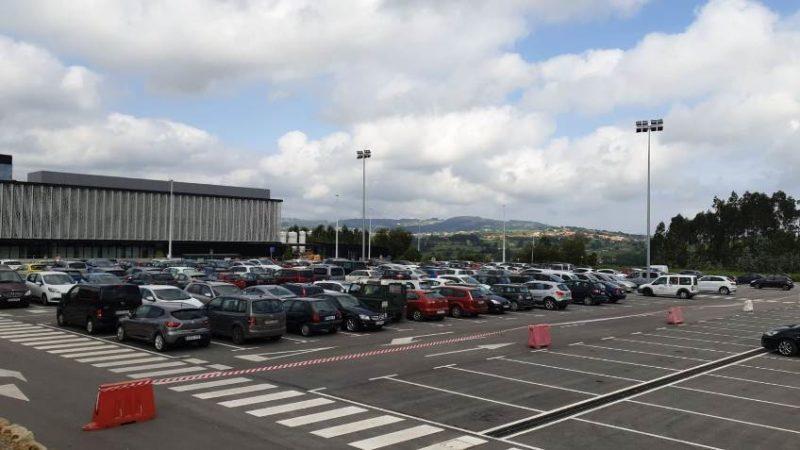 El Plan de Movilidad plantea que el aparcamiento del Hospital Sierrallana sea punto para dejar el coche y luego trasladarse al centro de Torrelavega en transporte público