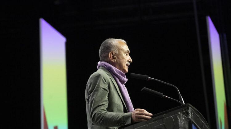 Pepe Álvarez, durante su intervención en la inauguración del 43 Congreso Confederal de UGT