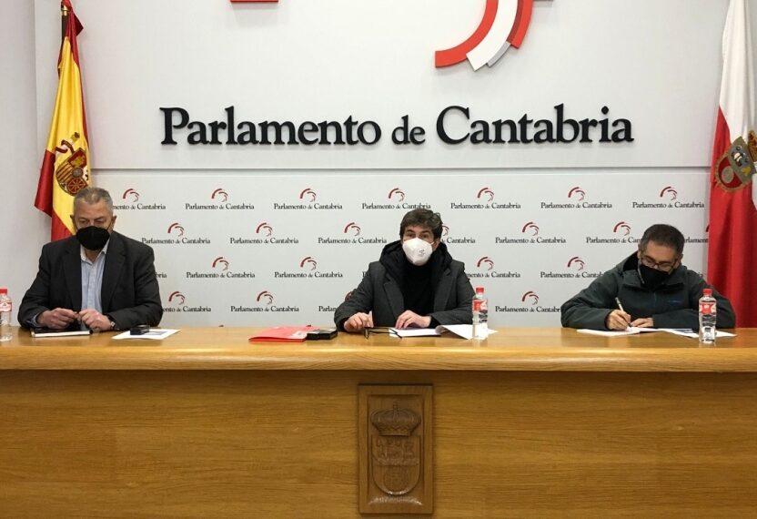UGT presenta en el Parlamento de Cantabria su proyecto Trajuca para la transición justa