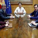 Mesa del diálogo social que ha negociado y aprobado una nueva prórroga de los ERTE