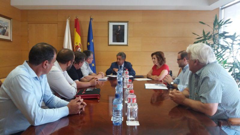 Reunión del comité de GSSP y el Gobierno de Cantabria celebrada hoy