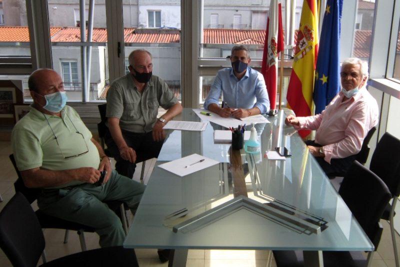 Reunión de UJP-UGT con el vicepresidente de Cantabria