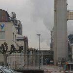 La fábrica de Solvay en Torrelavega pretende reducir un millón de toneladas de CO2 en su producción para el año 2025