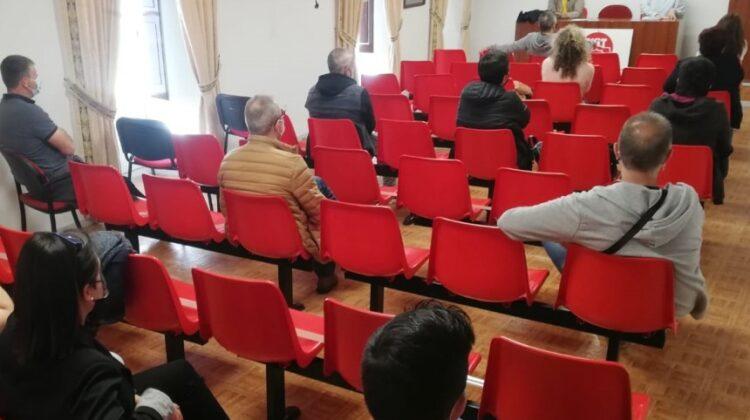 Asamblea de delegados celebrada en Laredo