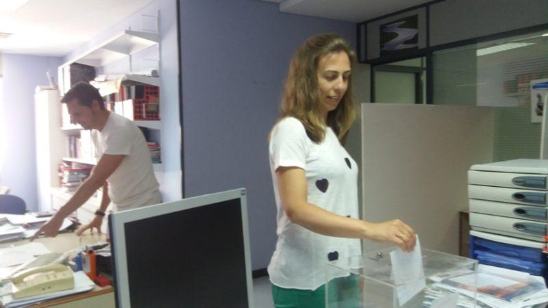 La votación presencial del acuerdo se realizó en todas las sedes de UGT en Cantabria los días 2 y 3 de julio
