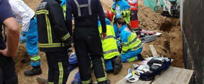 Dos de los cinco accidentes mortales se produjeron en el sector de la construcción, el más castigado esta siniestralidad más grave