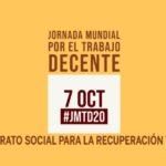 Este año se celebra la decimotercera Jornada Mundial por el Trabajo Decente convocada por la Confederación Sindical Internacional, de la que forma parte UGT