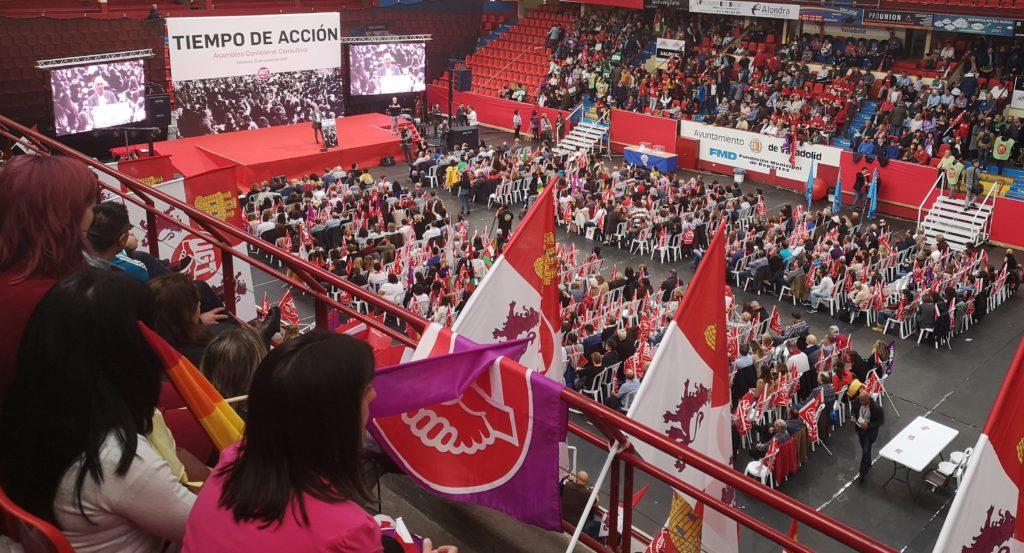 Asamblea Confederal de UGT celebrada este año en Valladolid