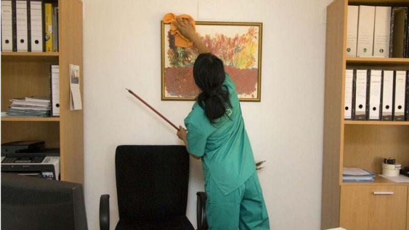 Un 5% de todo el empleo femenino de Cantabria son empleadas del hogar