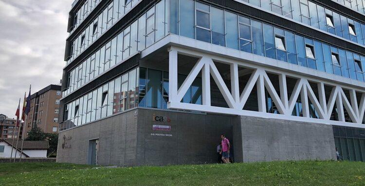 Sede del Instituto Cántabro de Servicios Sociales (ICASS), del que depende el centro de menores santanderino